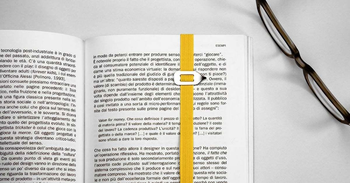 Kitap Ayracı LastWord Sayfada Kaldığınız Yeri İşaretliyor