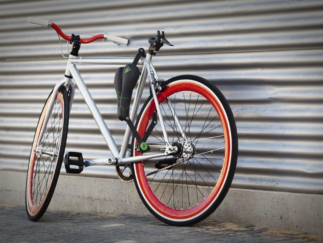 Hem Sele Hem Bisiklet Kilidi: Seatylock