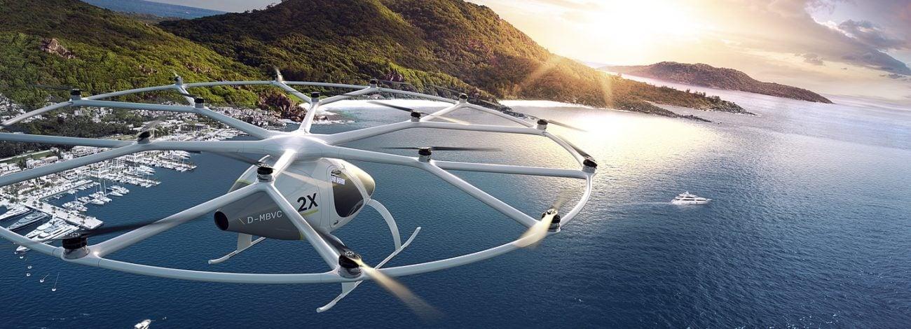 Megadrone Gibi Görünen Uçan Taksi: Volocopter VS200 2X