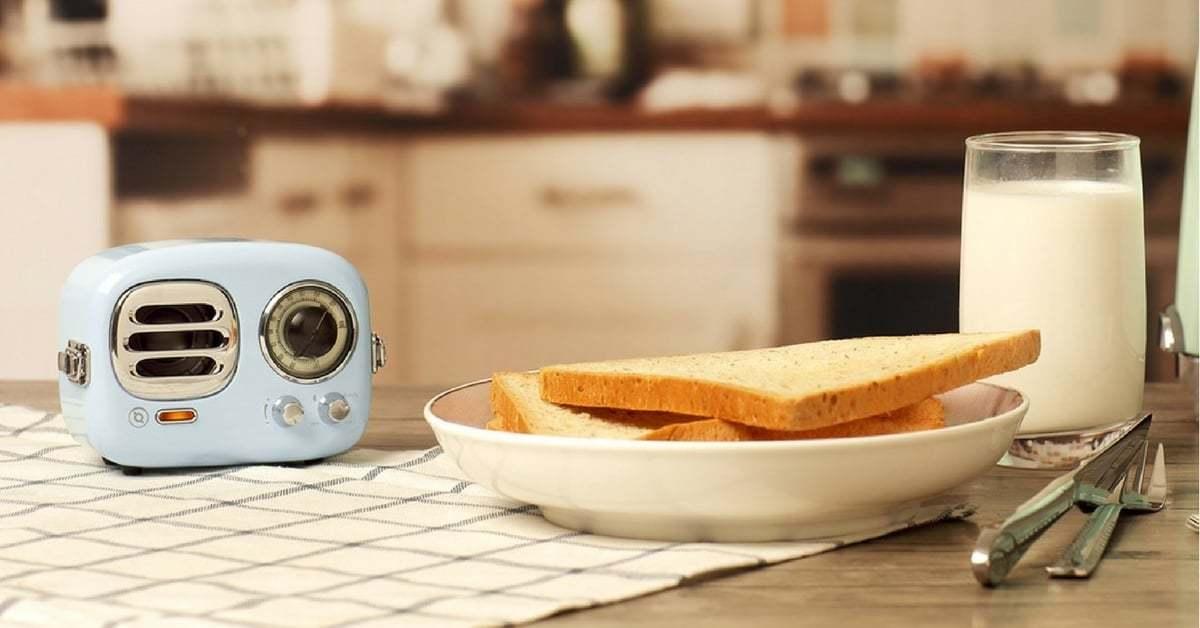Ekmek Kızartma Makinesinden Radyo Dinle
