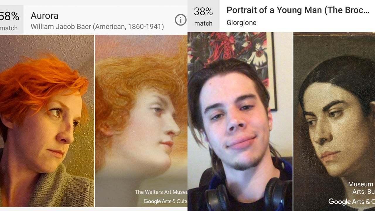 Google Arts & Culture'la Sanat Dünyasındaki İkizinizi Bulun