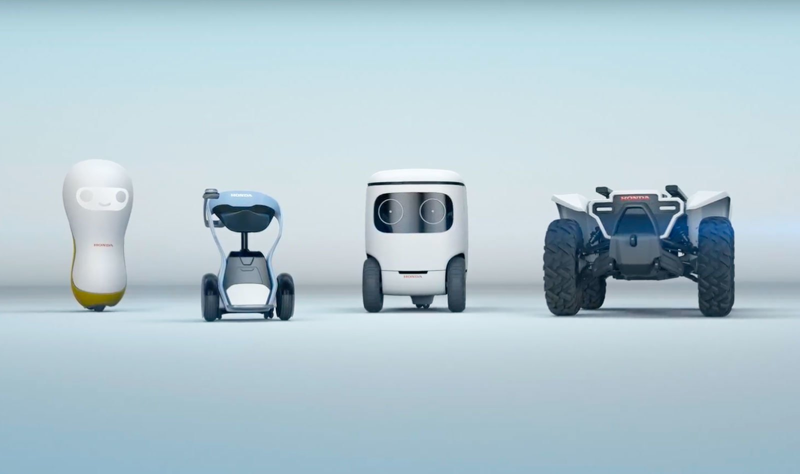 Honda'dan Şirin mi Şirin Robot Konseptleri: 3E Serisi