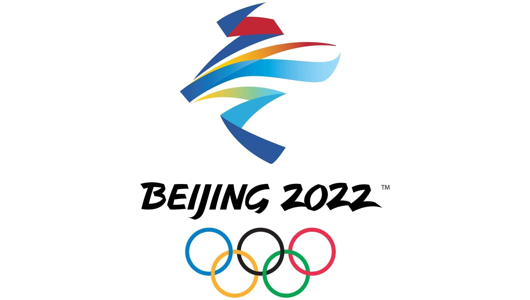 Kaligrafi Esintili Beijing 2022 Kış Olimpiyatları Logosu