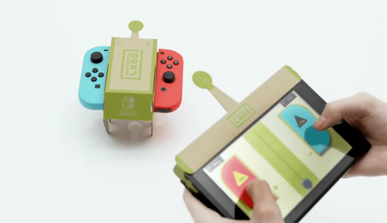 Karton Maketlerle Switch'te Yepyeni Bir Dünya: Nintendo Labo