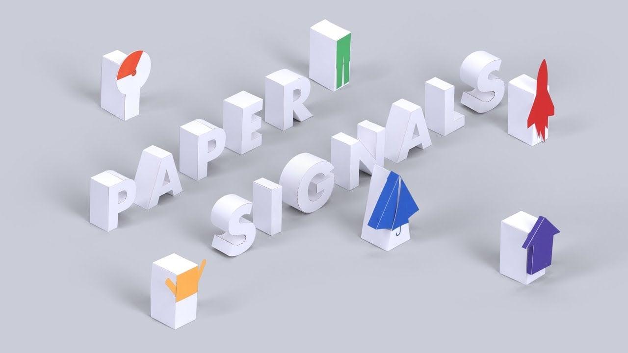 Google'ın Sese Duyarlı Kağıt Dünyası: Paper Signals
