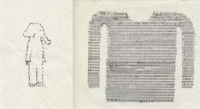 Daktiloyla Çizilen Sıcacık Resimler