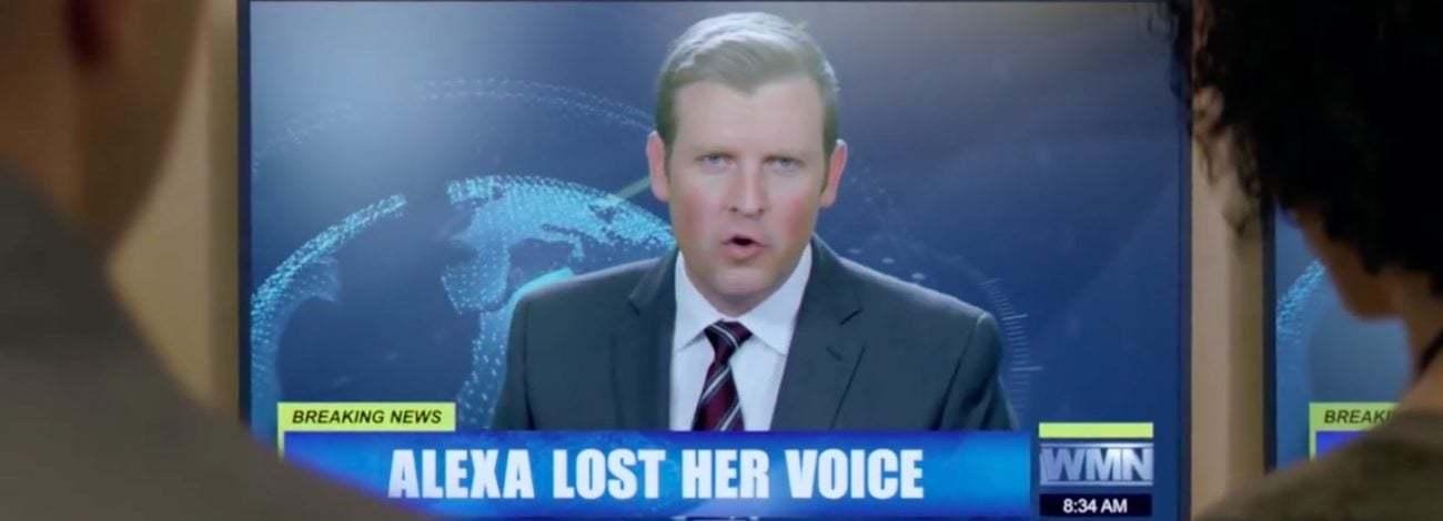 Amazon'un Alexa'sı Sesini Kaybederse