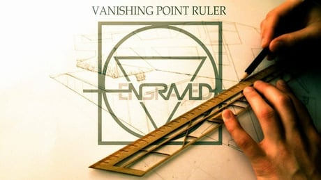 cetvel_vanishing point ruler_engraved_kickstarter_bigumigu