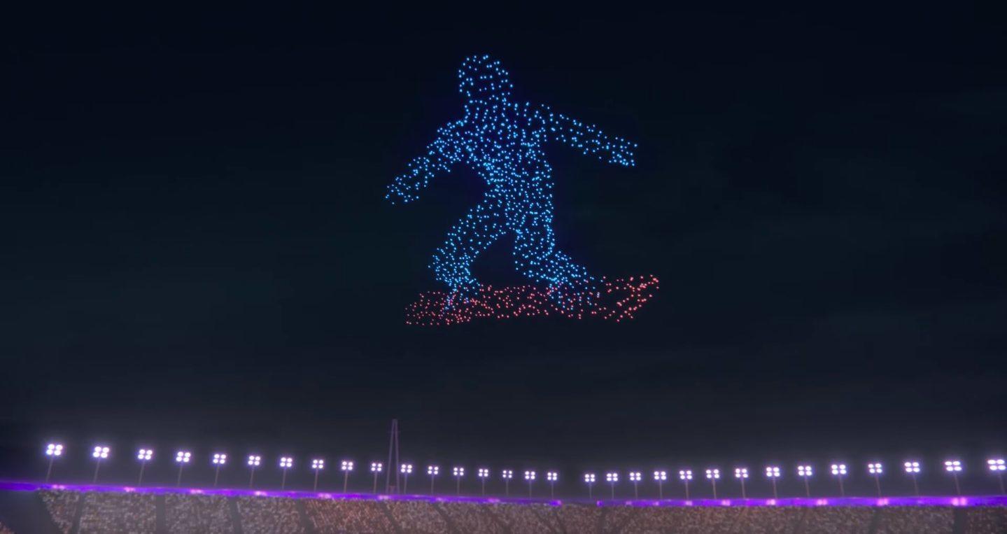 Intel'den Kış Olimpiyatları Açılışına Özel Drone Gösterisi
