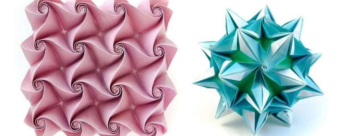 Bir Matematikçinin Tasarımıyla Origami Çiçek Topları ve Mozaikler
