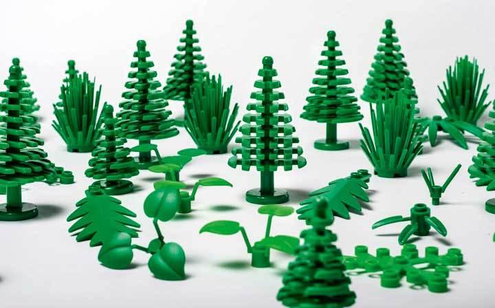 Yeşili Sevip Doğayı Koruyan LEGO'lar