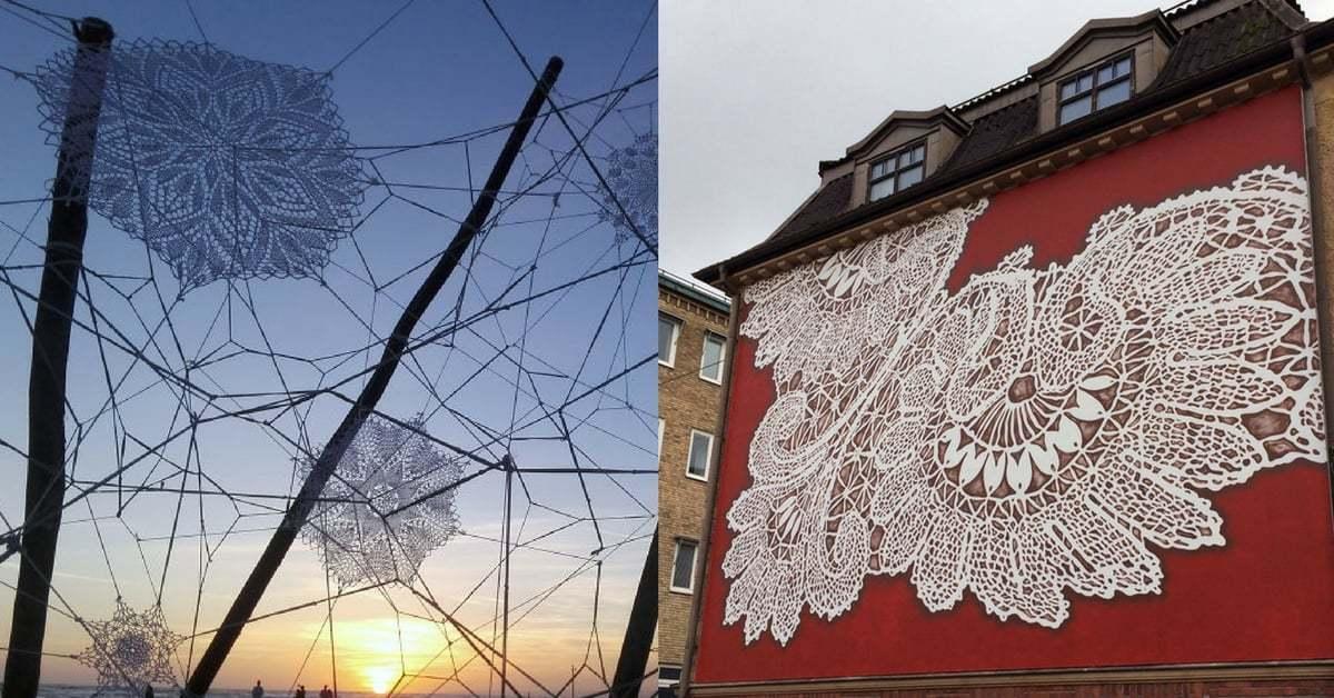 Sokak Sanatıyla Şehrin Üzerine Dantel Örtmek