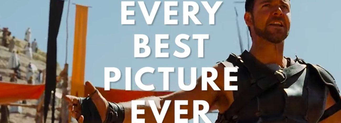 En İyi Film Oscar'ı Alan Tüm Filmler Tek Videoda