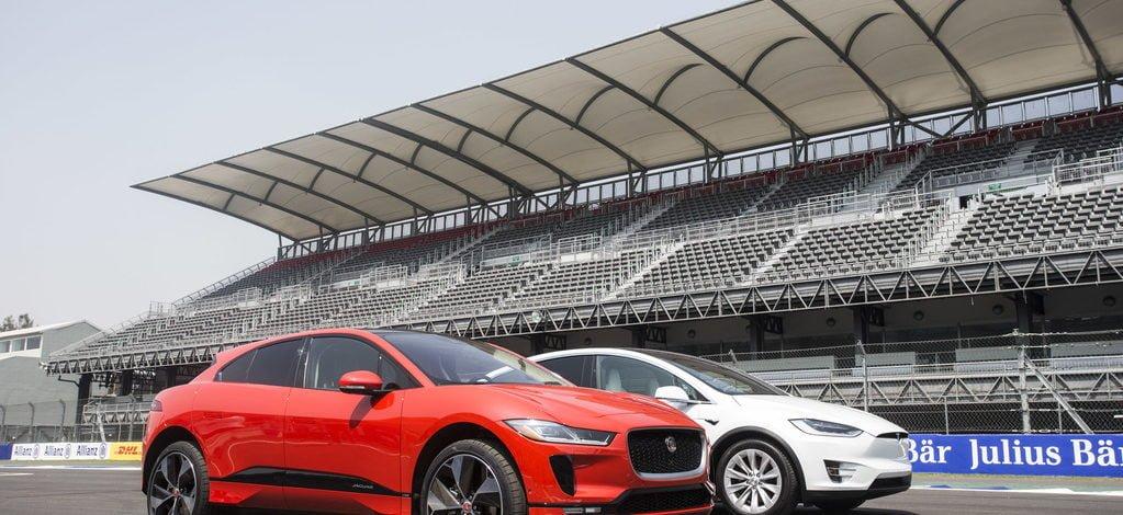 Jaguar'ın Yeni Elektrikli SUV'si I-PACE, Tesla Model X'ten Daha Hızlı!