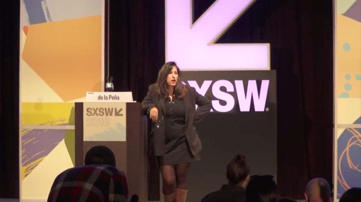 Nonny de la Peña: Nezaketi Geri Getirebiliriz [SXSW 2018]