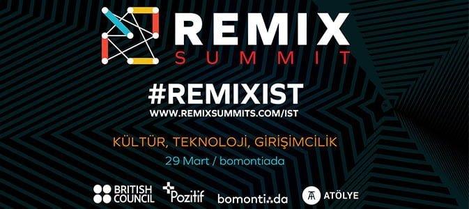 İngiltere'de Doğan REMIX Academy İstanbul 29 Mart'ta ATÖLYE'de!