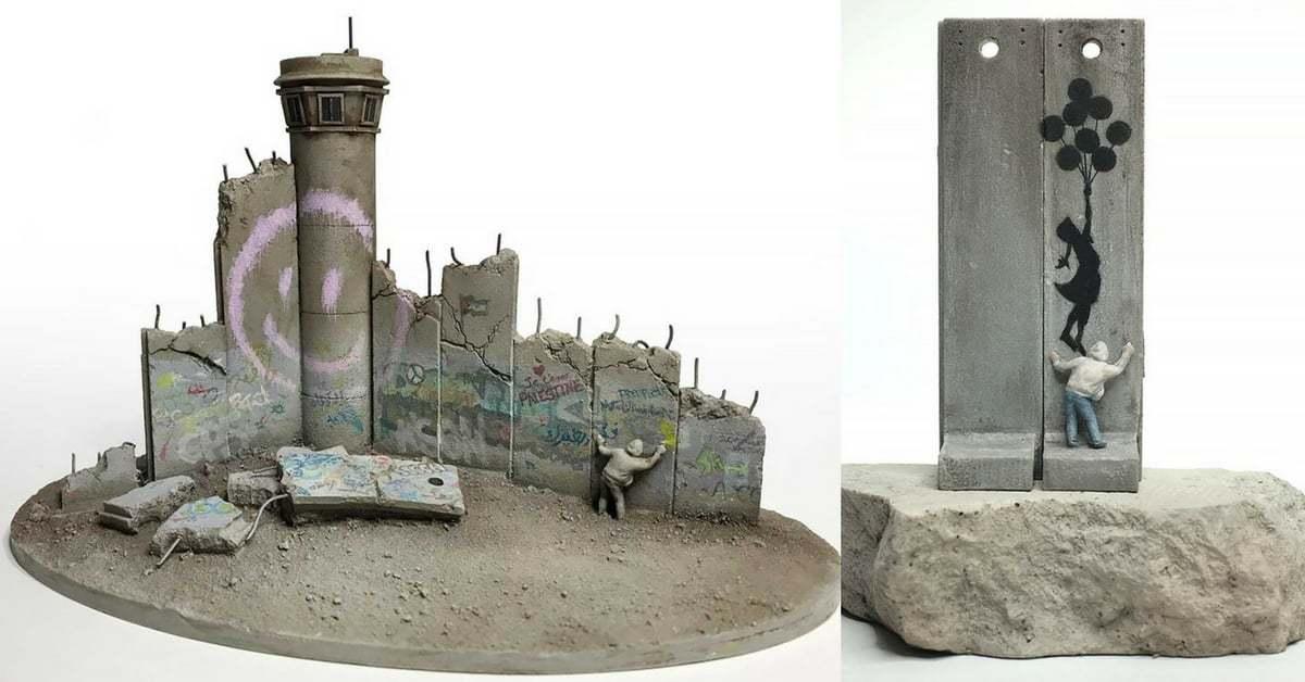 Banksy'den Batı Şeria'da Açtığı Otel İçin Yeni Hediyelik Eşyalar