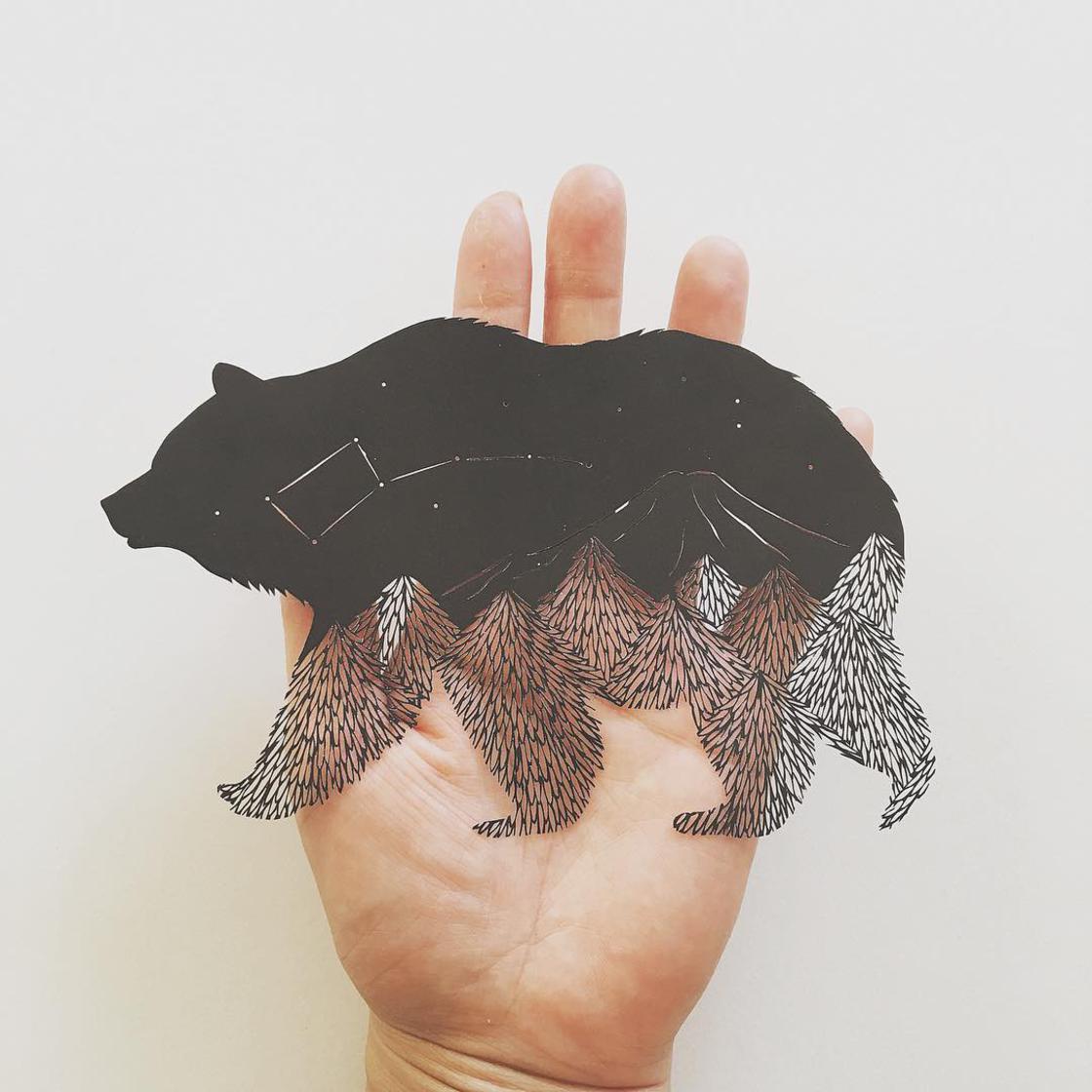 Kağıt Sanatıyla Vahşi Yaşam