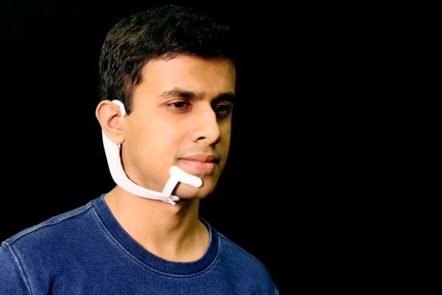 MIT Media Lab'de İç Sesi Okuyabilen Giyilebilir Aygıt Geliştirildi