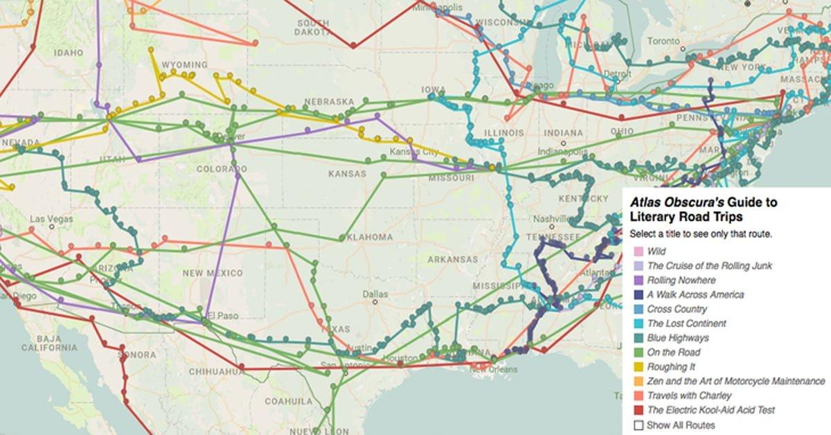 Seyahat Edebiyatının Işığında Etkileşimli Yol Haritası