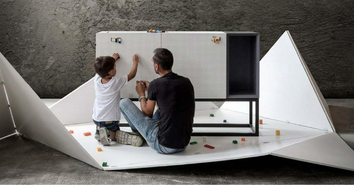 LEGO Uyumlu Mobilyalarla İçindeki Çocuğu Mutlu Et