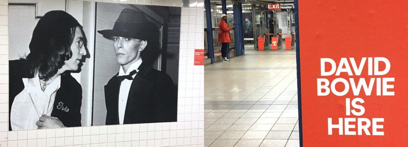 NYC Broadway-Lafayette Metro İstasyonunu David Bowie Ele Geçiriyor
