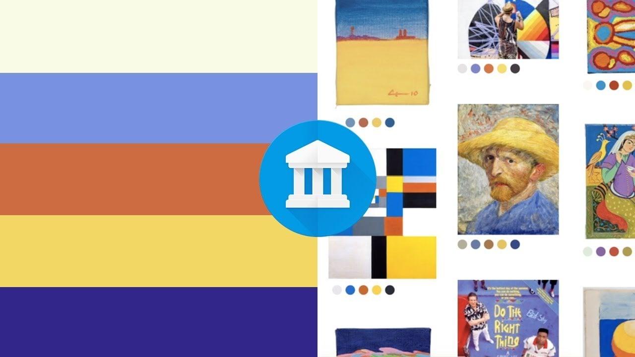 Google Arts & Culture'la Renk Paletini Seç, Hangi Sanat Eserleri Senin Renginde Öğren