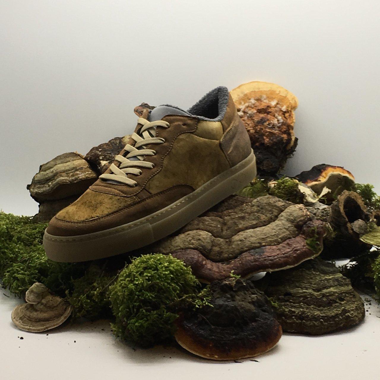 Mantardan Üretilen Vegan Ayakkabı: nat-2 Funghi Line