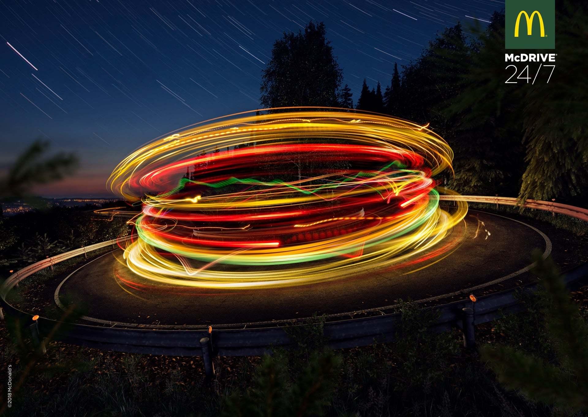 Uzun Pozlama Gibisi Yok: McDonald's'tan Işık Hızında Menü
