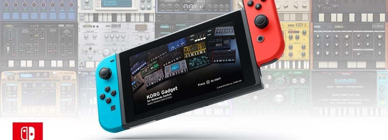 Nintendo Switch'te Oyun Oynar Gibi Müzik Yapın: KORG Gadget