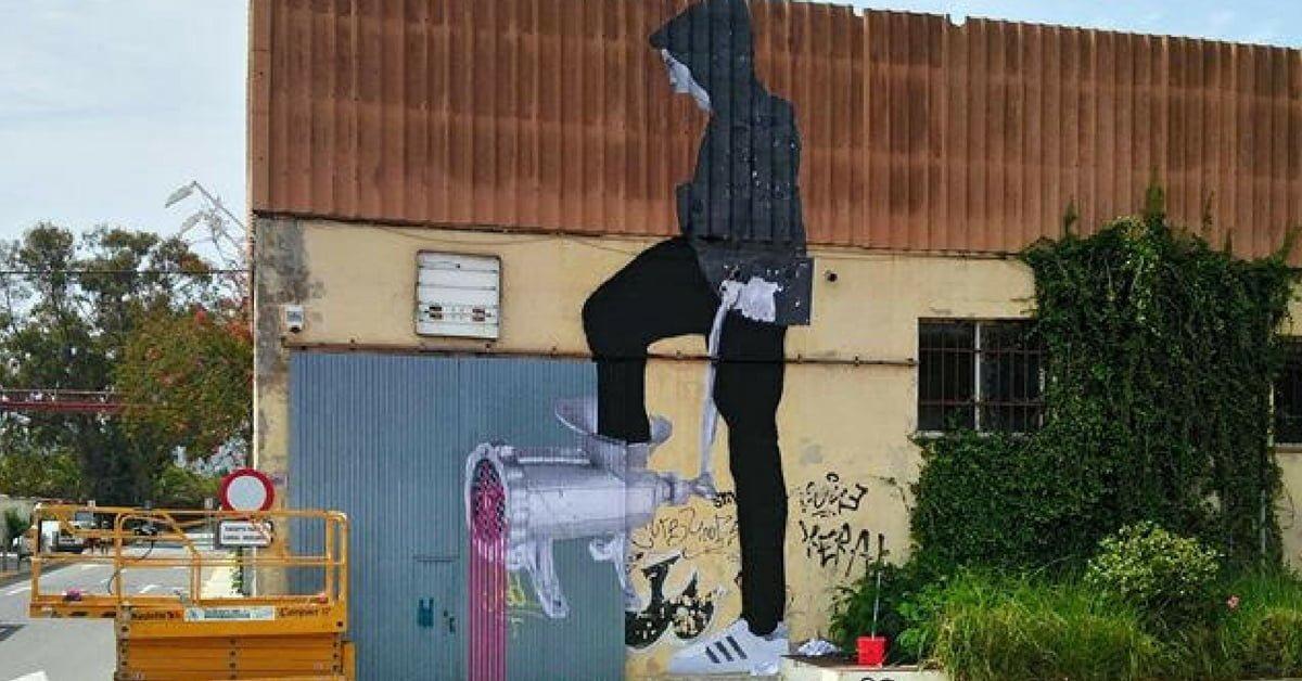İbiza'da Sessizce Sözünü Söyleyen Bir Mural: Et