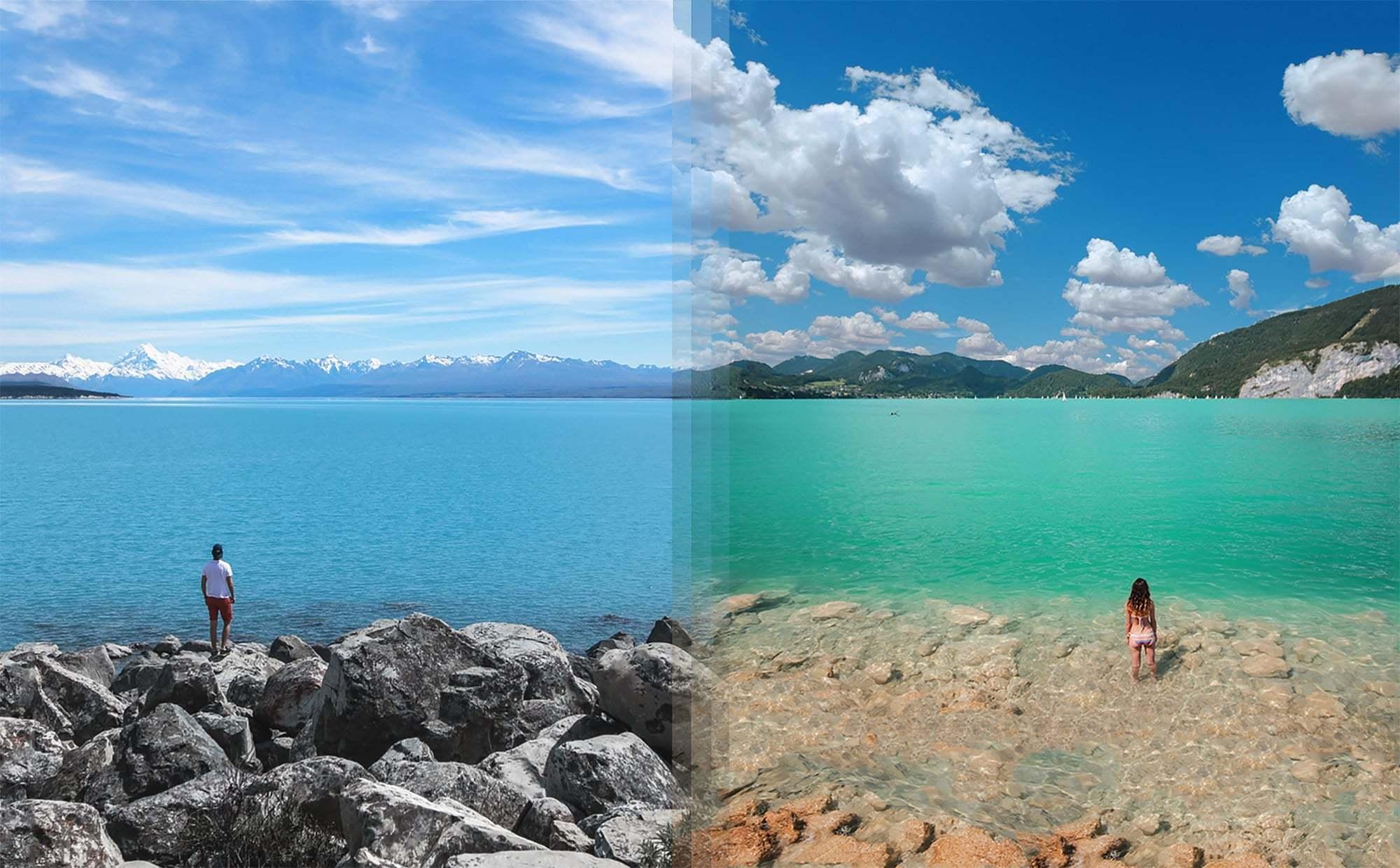 Dünyanın Farklı Yerlerindeki Güzellikler Aynı Karede