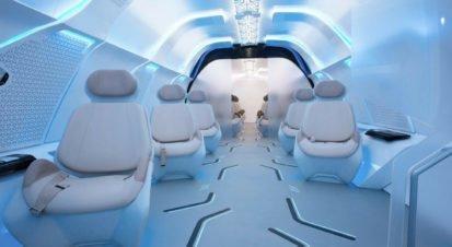 Hyperloop İçin Süper Konforlu Vagonlar