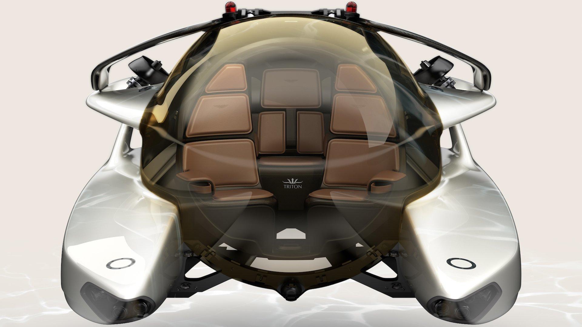 Aston Martin'den Performansın Peşinde Lüks Bir Denizaltı