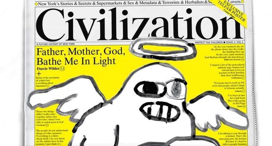 New York'a ve Orada Yaşamaya Özgü Bir Gazete: Civilization