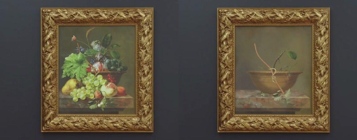 Meyve ve Sebzesiz Natürmortlar