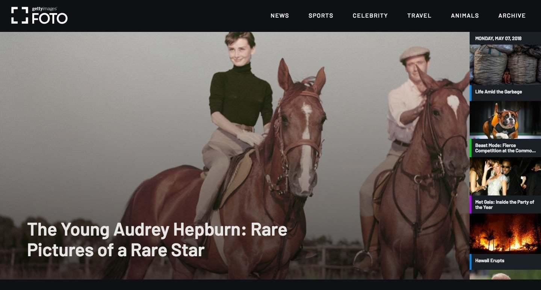 Getty Images'ın Yeni Kardeş Medyası: FOTO
