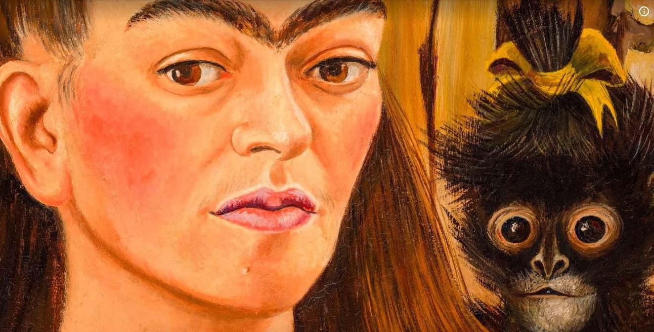 Google Yeni Sanal Sergisiyle Frida Kahlo'nun Hayatının Derinliklerine İniyor