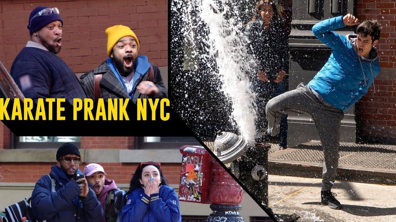 karate_cobra kai_thinkmodo_kamera şakası_new york_abd_bigumigu_