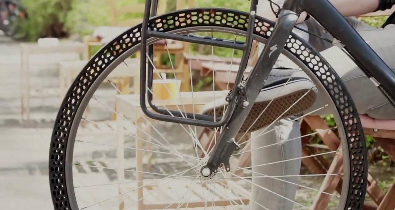 3B Baskı Havasız Bisiklet Lastiği