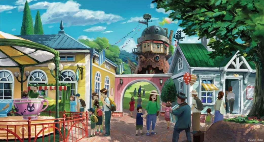 Studio Ghibli'den Animasyonları Canlandıracak Yeni Tema Parkı