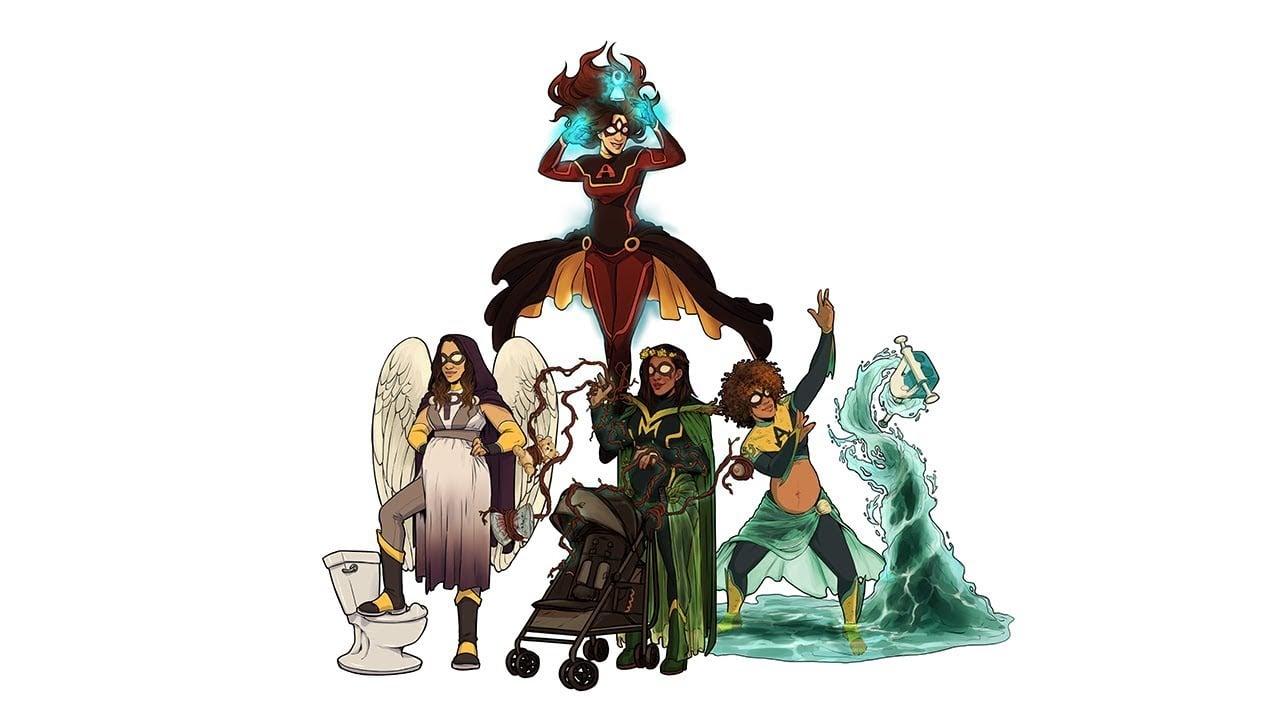 Karnı Burnunda Süper Kahramanlar: M.O.M. Squad
