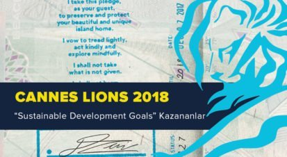 Sustainable Development Goals Kategorisinde Ödül Kazanan İşler [Cannes Lions 2018]