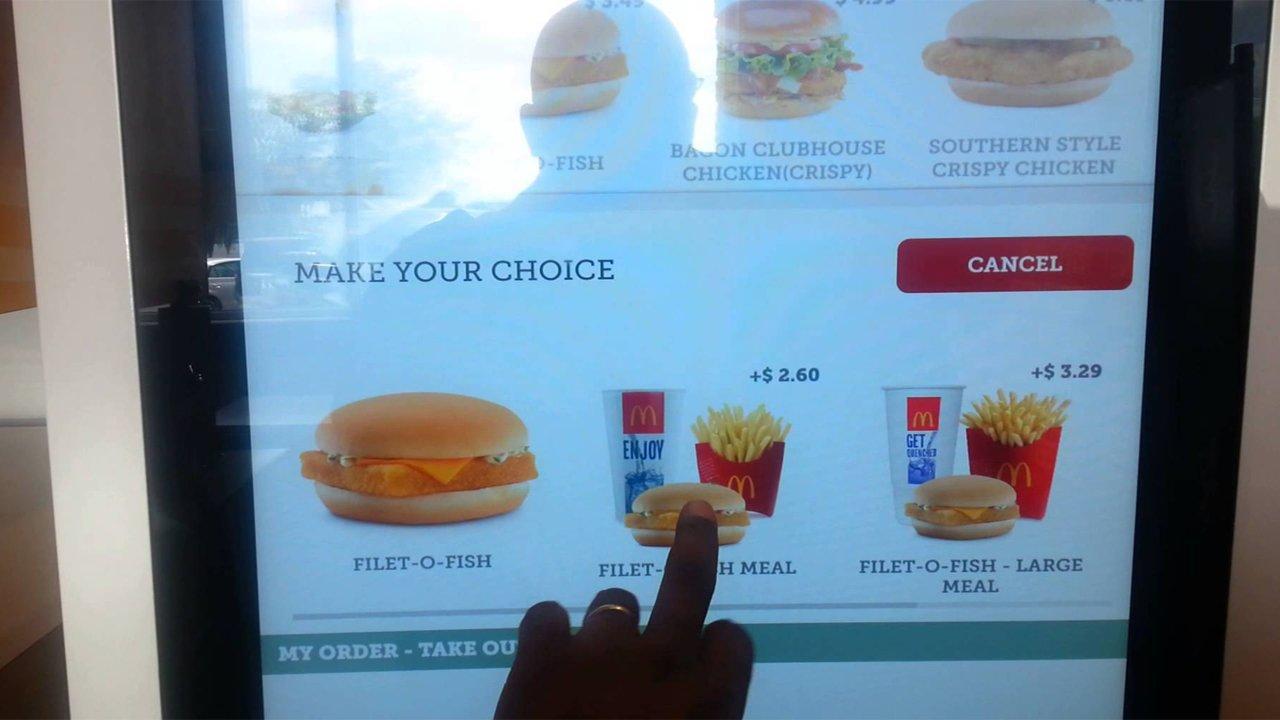 McDonald's Binlerce Restoranına Sipariş Kiosku Ekliyor