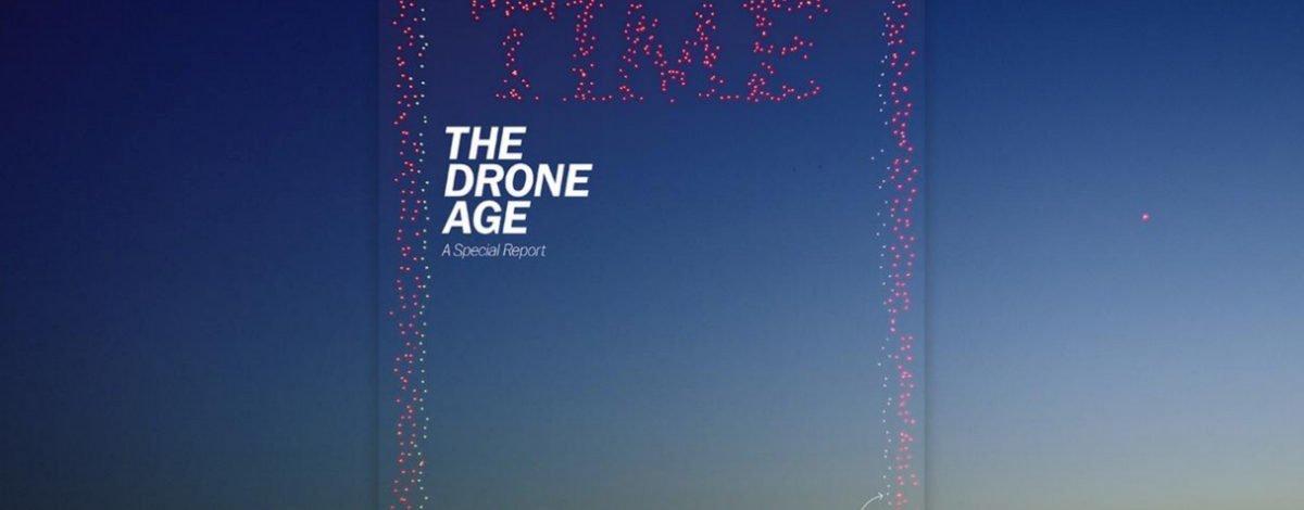 TIME Dergisinin 958 Drone'lu Yeni Kapağı