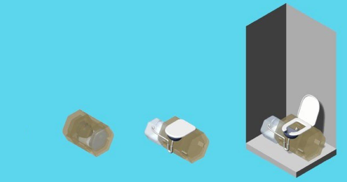 Gübre Olarak Toprağa Gömülebilen Mantar Tuvalet