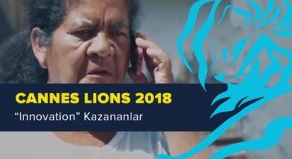 Innovation Kategorisinde Ödül Kazanan İşler [Cannes Lions 2018]