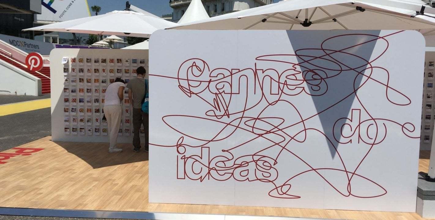 Cannes Festival Alanında Gerçek Dünyaya Taşınan Pinterest [Cannes Lions 2018]