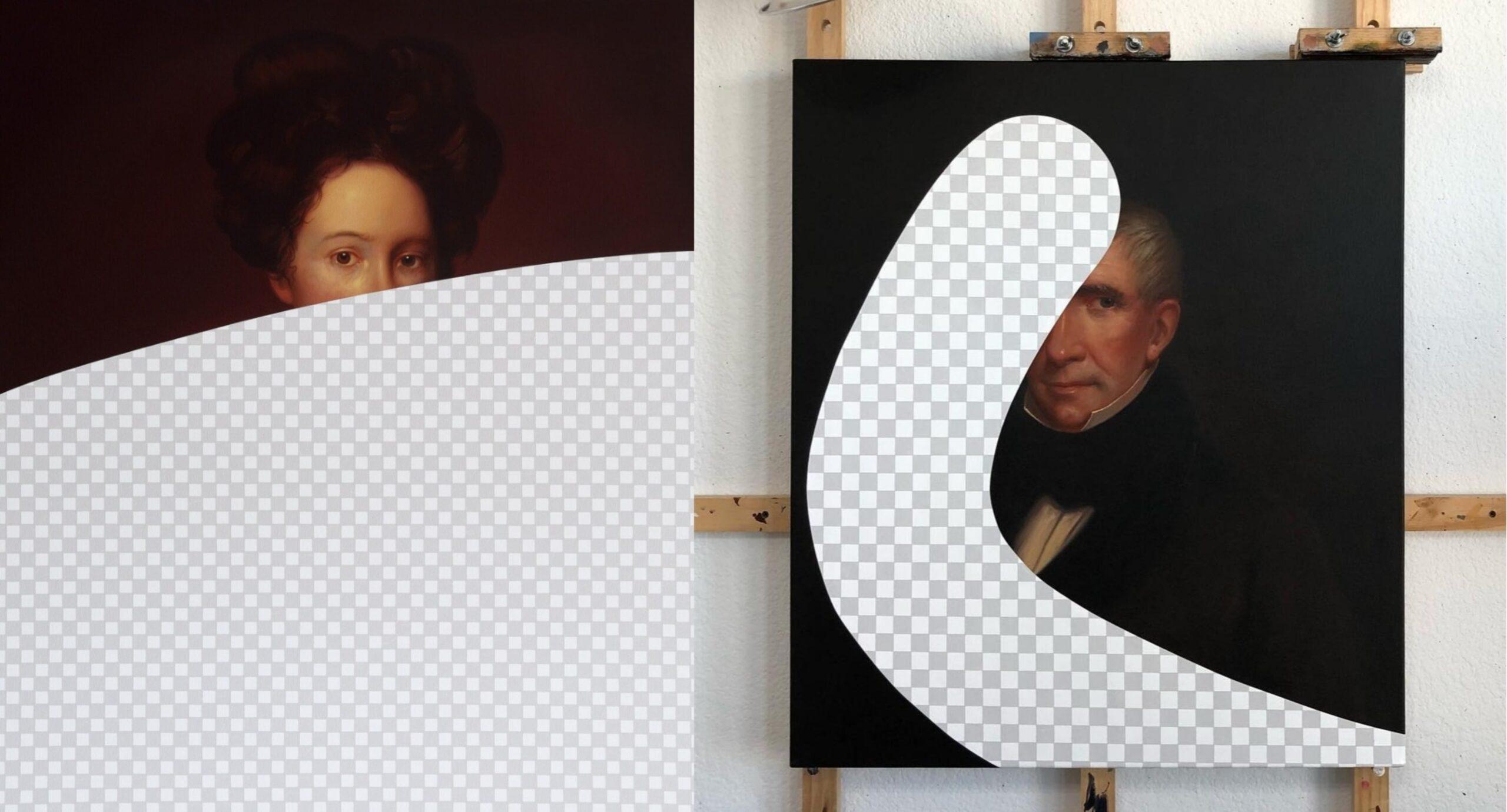 Beyaz Saray Resim Koleksiyonunu Silen Akrilik Tablolar