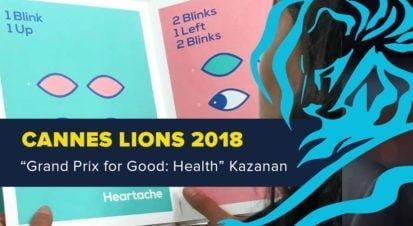Grand Prix for Good: Health Kategorisinde Ödül Kazanan İş [Cannes Lions 2018]